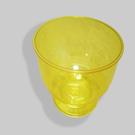 Кристалл Креманка 200мл. желтая (16/192)