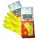 Перчатки латексные хоз. L  (12/240) АТ