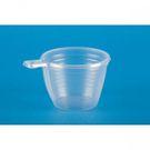 Чашка коф. прозрачная 0,2 л 50шт/уп (1250) Зима