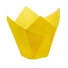 Тюльпан бумажный желтый 50х80мм  (180/1800)
