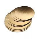 Подложка золото D220мм
