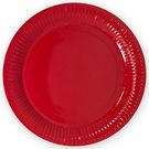 Тарелка 180 мм  Красная (100/1600) ЭКО